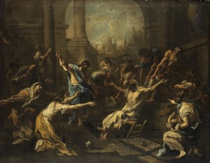 Alessandro Magnasco - 'The Raising of Lazarus'