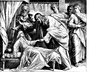The Raising of Jairus' Daughter - Schnorr von Carolsfield