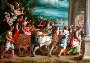 Giulio Romano, The Triumph of Titus and Vespasian
