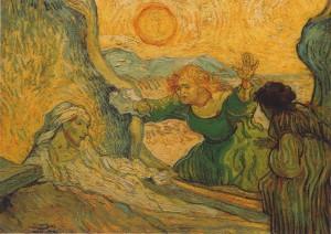 Vincent Van Gogh: La Résurrection de Lazare (d'après Rembrandt)